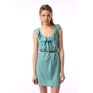 Pins & Needles Sea Green Dress Urban Outfitters XS